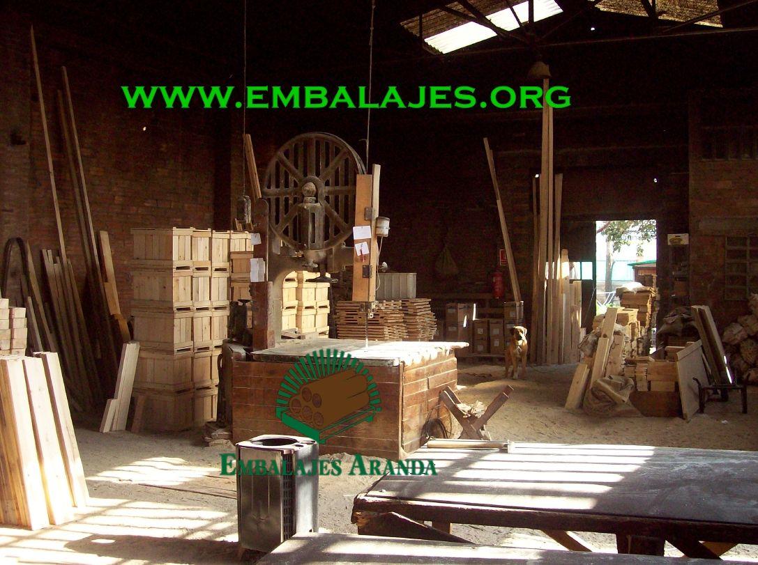 Carpinteria embalajes de madera
