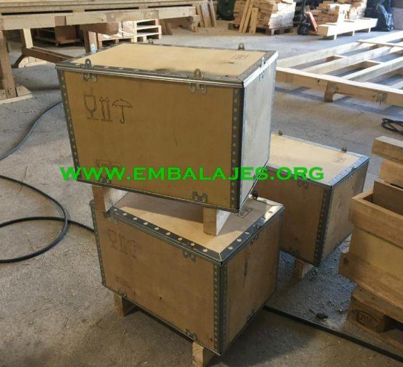 Cajas plegables de madera