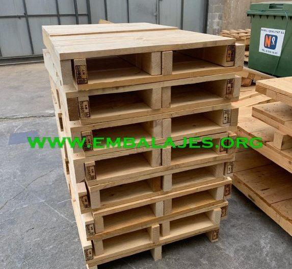 Embalaje industrial de Fabricamos palets EUR y a medida