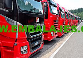 Embalaje industrial industria del transporte