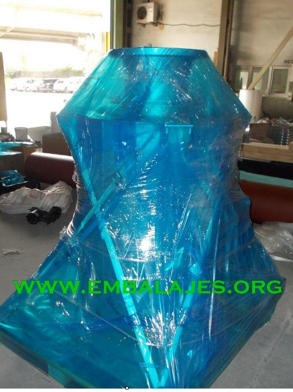 Embalajes contra la corrosión VCI