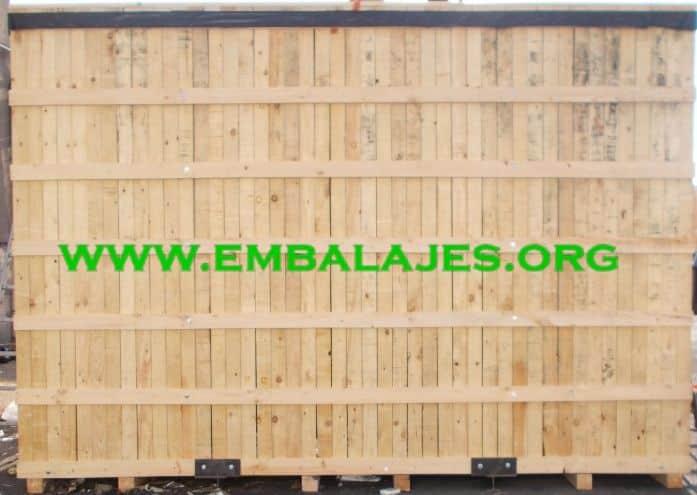 Embalajes de madera natural