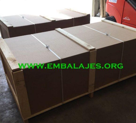Embalajes de madera y cartón o mixtos