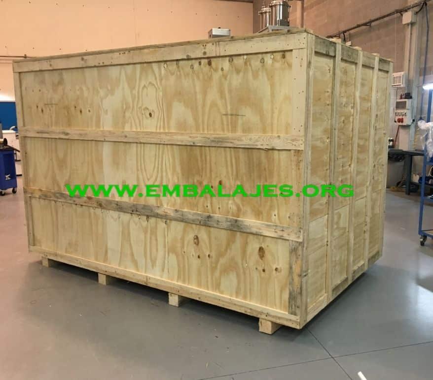 Embalajes industriales de madera contrachapado