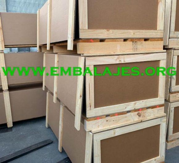 Embalajes mixtos cartón madera