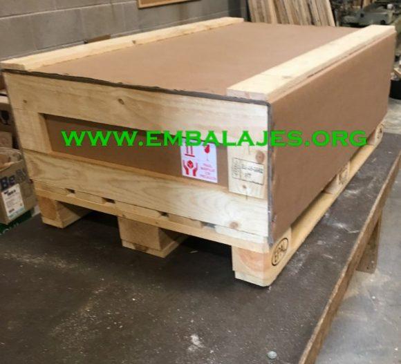 Embalajes mixtos de cartón-madera