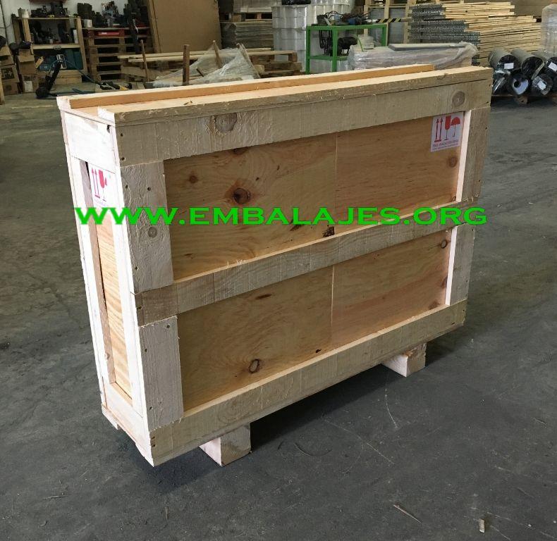 Expertos en embalaje cajas de madera contrachapada