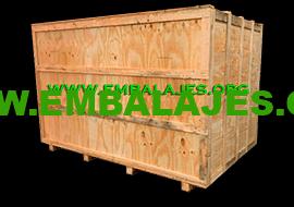 Fabrica cajas de madera de pino