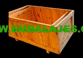 Fabrica cajas de madera natural
