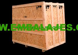Fabrica cajas de madera osb