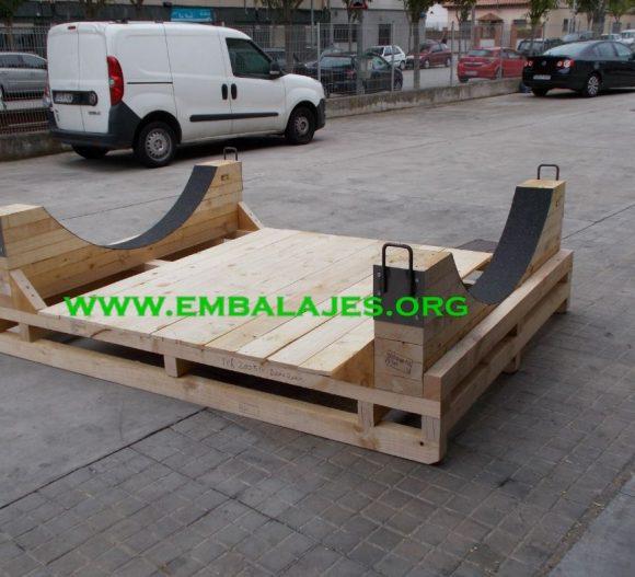 Fabrica cunas de madera maciza