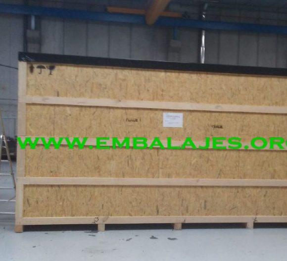 Fábrica de embalaje industrial tablero de OSB