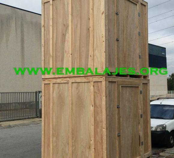 Fábrica de guardamuebles para empresas de mudanzas
