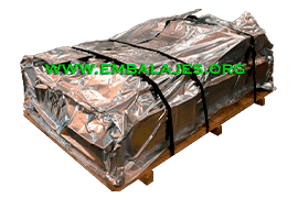 Fabrica fundas aluminio embalaje industrial