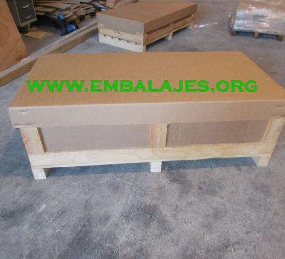 Fabricación a medida de cajas de cartón y madera