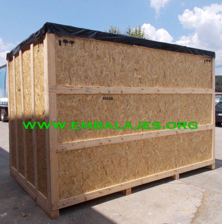 Fabricación de embalajes con tablero OSB