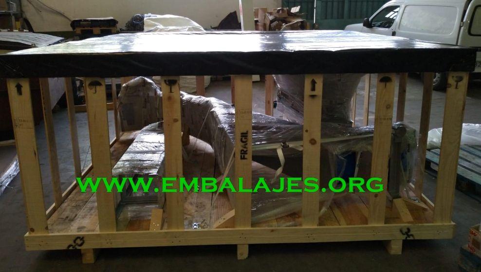 Fabricación de jaulas de madera a medida