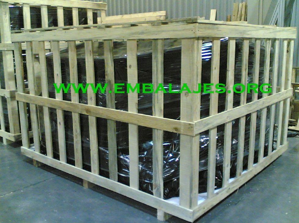 Fabricamos jaulas de madera a medida