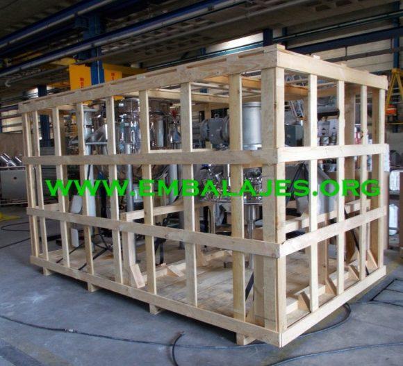 Fabricante de jaulas de madera para embalaje