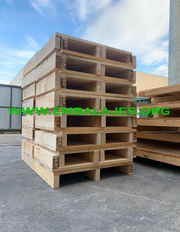Fabricante de palets de madera