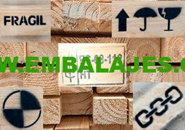Marcaje industrial embalajes de madera