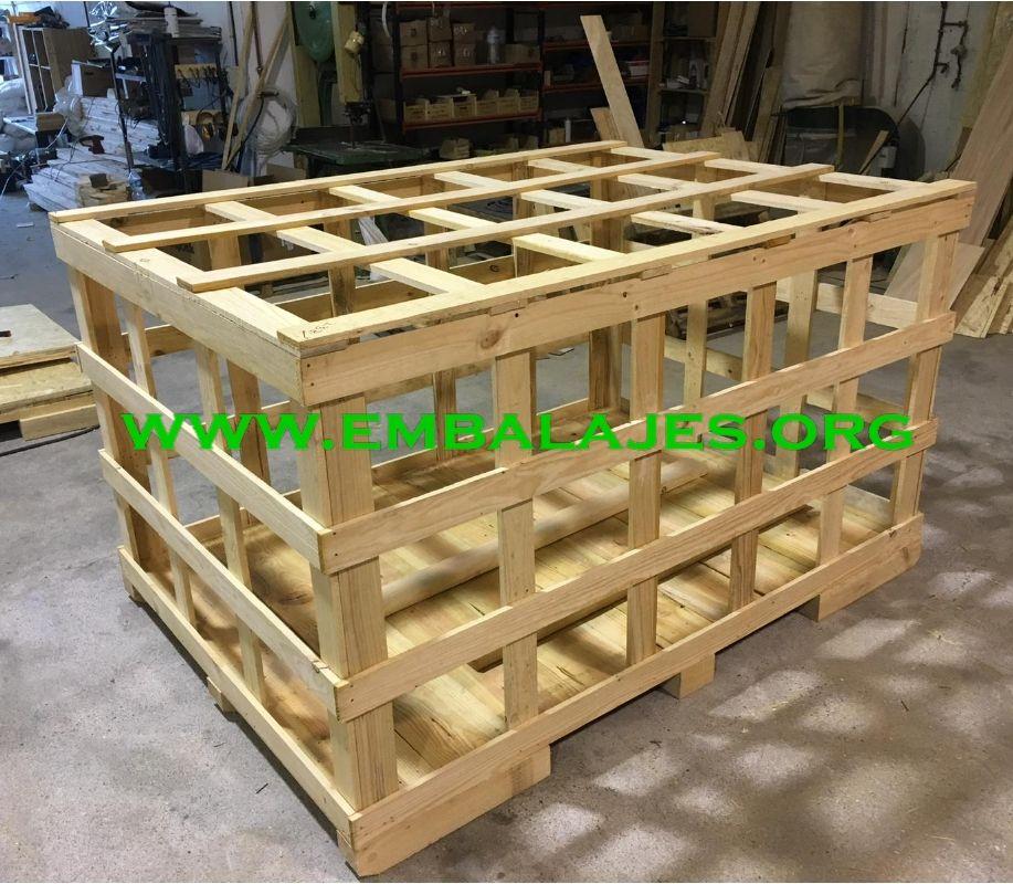 Montaje y fabricación de Jaulas de madera a medida