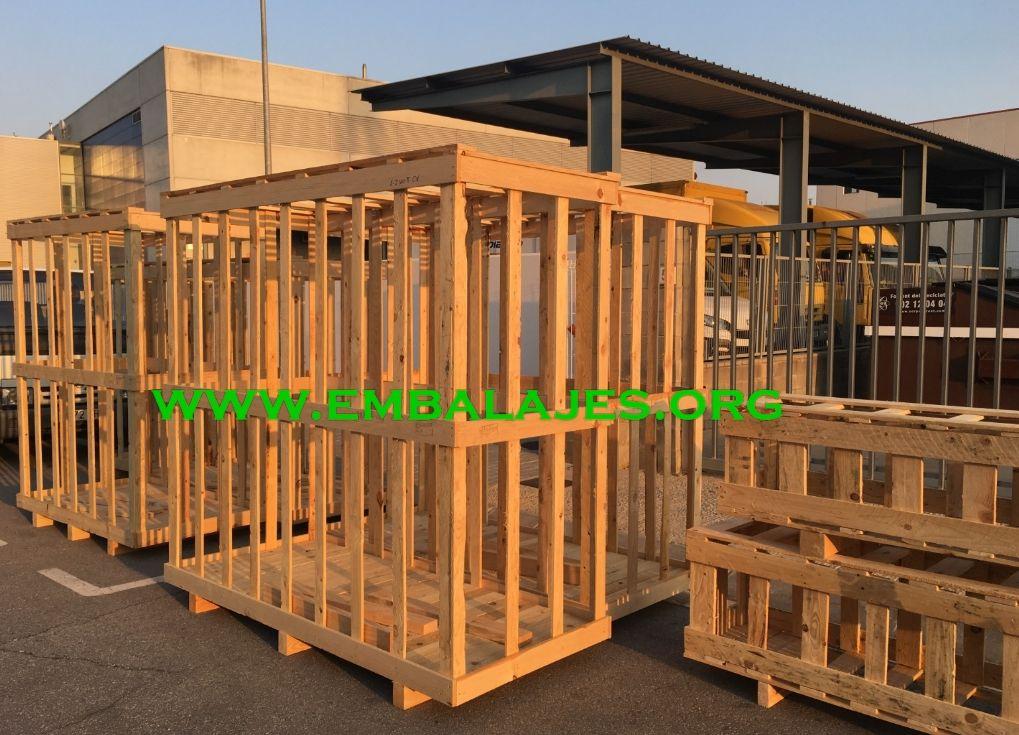 Proveedor de jaulas de madera para embalajes