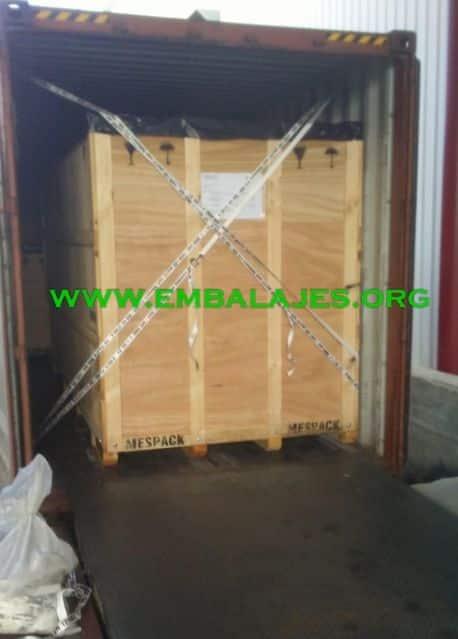 Trincaje de contenedores marítimos