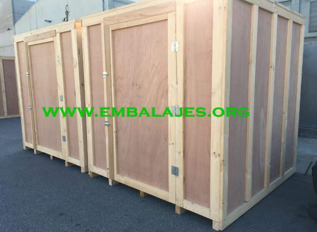 Venta de contenedores de madera para guardamuebles