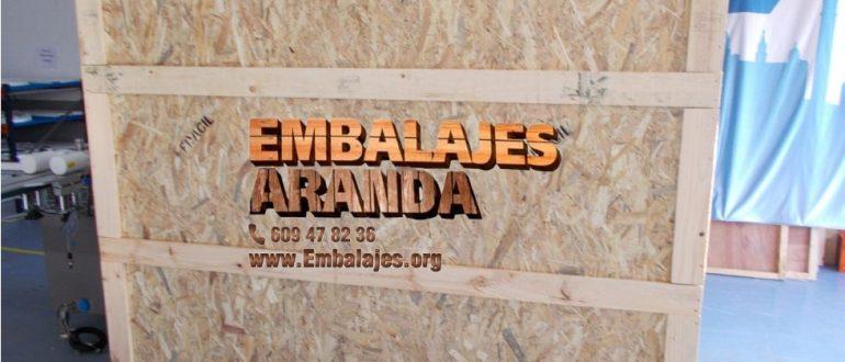Embalaje industrial Barcelona