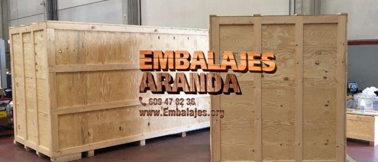 Embalaje industrial Bilbao