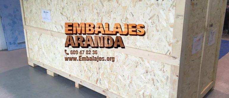 Embalaje industrial Sevilla