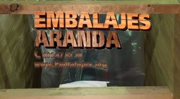 Embalaje industrial Abarán Murcia