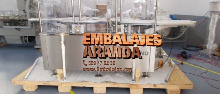 Embalaje industrial Alba de Tormes Salamanca