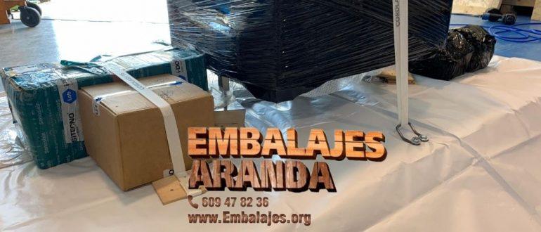 Embalaje industrial Alcalá de los Gazules Cádiz