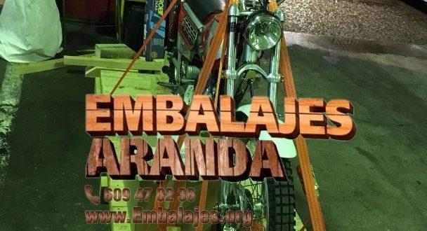 Embalaje industrial Alcalá la Real Jaén