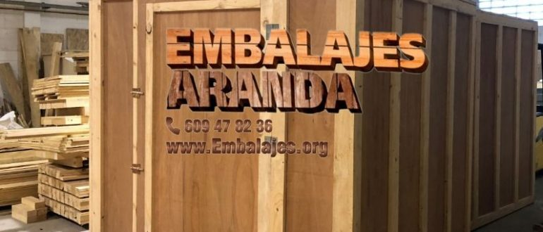 Embalaje industrial Alcanar Tarragona