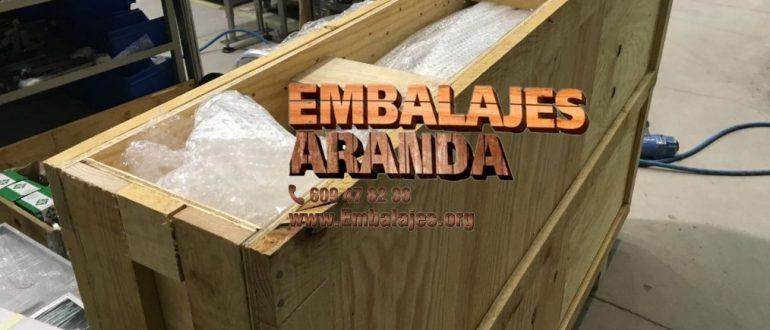 Embalaje industrial Alcañiz Teruel