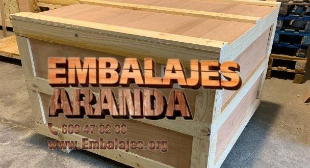 Embalaje industrial Alcorisa Teruel