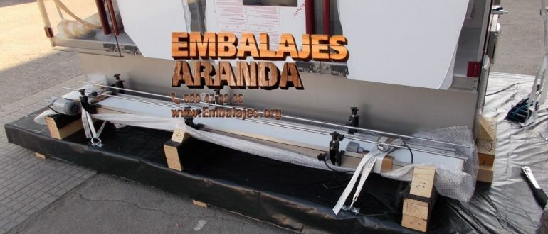 Embalaje industrial Almansa Albacete
