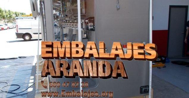 Embalaje industrial Almería