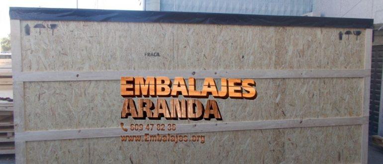 Embalaje industrial Alpedrete Madrid