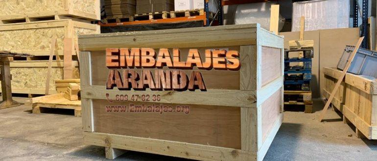 Embalaje industrial Andorra Teruel