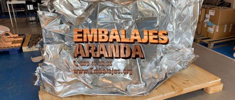 Embalaje industrial Andratx Islas Baleares