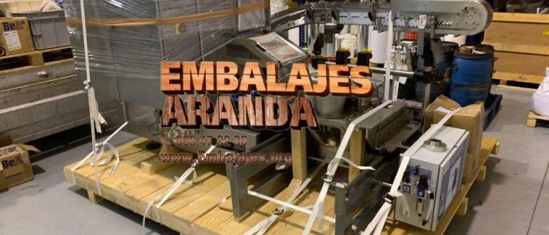 Embalaje industrial Ansoáin Navarra