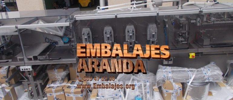 Embalaje industrial Aracena Huelva
