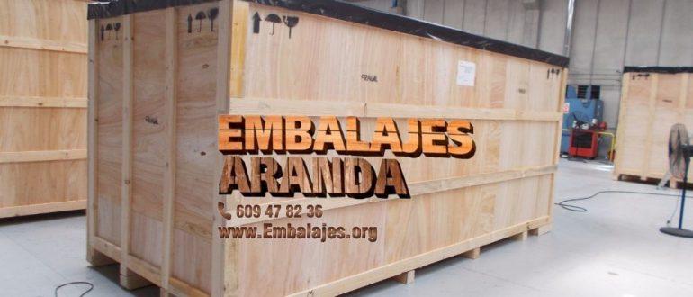 Embalaje industrial Aranda de Duero