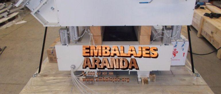 Embalaje industrial Aranguren Navarra