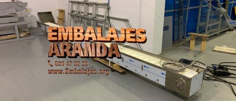 Embalaje industrial Arboleas Almería