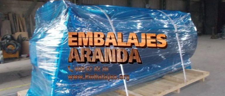 Embalaje industrial Arbúcies Girona